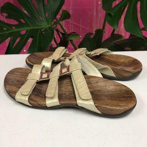 Orthoheel sandals creamy